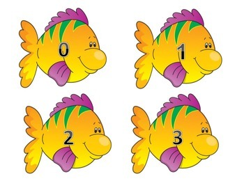 Fishing for Numbers and Letters (English and Spanish)