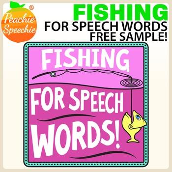 Fishing for Speech Words - Free Sample!