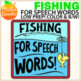 Fishing for Speech Words - Speech Therapy Game Companion