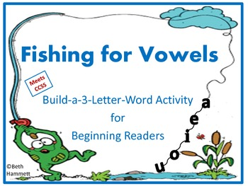 Fishing for Vowels (3 Letter Sight Words)