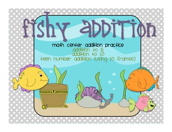 Fishy Addition (addition up to 20)