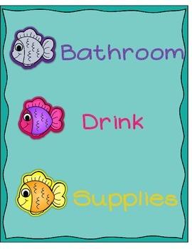 Fishy Friday Card Poster