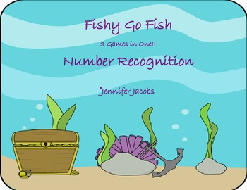 Fishy Go Fish - Number Recognition