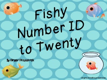Fishy Number ID to 20 Game