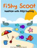 Summer School Regrouping Scoot Math Game