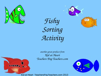 Fishy Sorting Activity