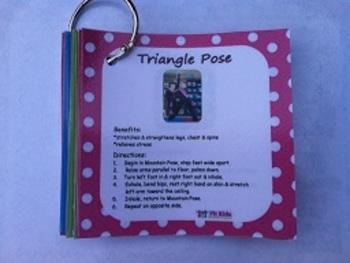 Fit Kids Yoga Cards