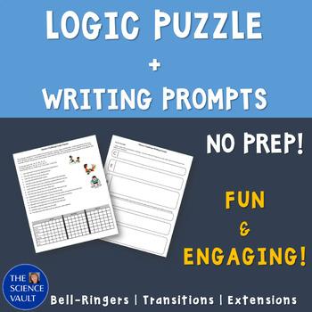 Fitness Challenge Logic Puzzle - Critical Thinking + Writi