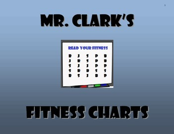 Fitness Charts Colors