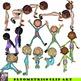 Fitness Clip Art Bundle Including Flexibility, Strength, L