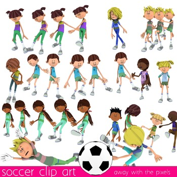 Fitness Clip Art - Soccer Football Commercial Use Clipart