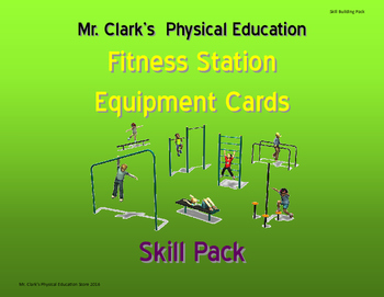 Fitness Station Cards Skill Pack