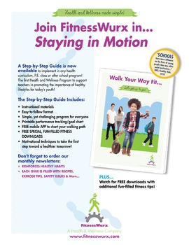 FitnessWurx Health and Wellness Walking Guide Now Availabl