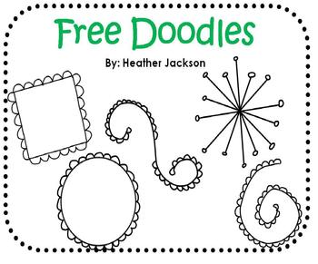 Seven! FREE Doodles Clipart (personal or commercial use)