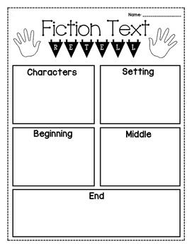 Five Finger Fiction Retell