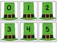 Five Frame Number Match 0-5 Math Center - St. Patrick's Da