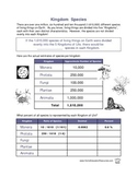 Five Kingdoms Worksheets