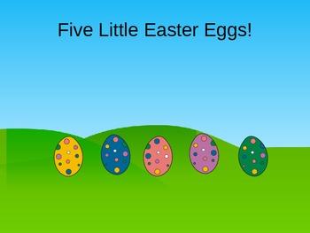 Five Little Eater Eggs!