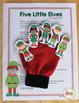 Elf Interactive Counting Book and Finger Play Poem