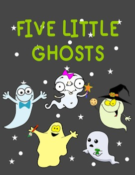 Five Little Ghost Books