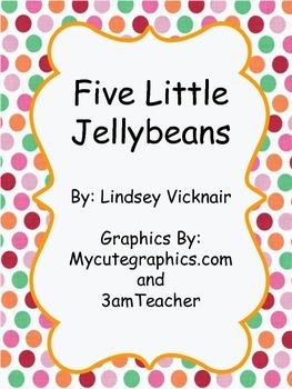 Five Little Jellybeans Countdown Book