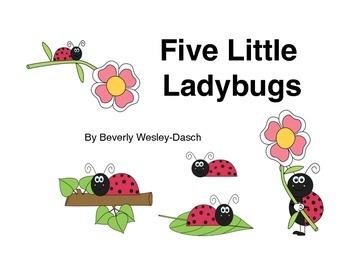 "Little Book of ""Five Little Ladybugs"""