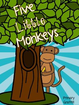 Five Little Monkeys {Final -e} Freebie