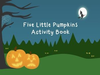 Five Little Pumpkins Halloween Activity Book