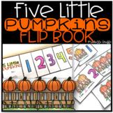 Five Little Pumpkins Flip Book