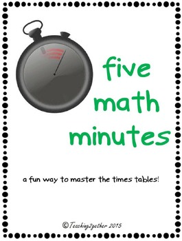 Five Math Minutes