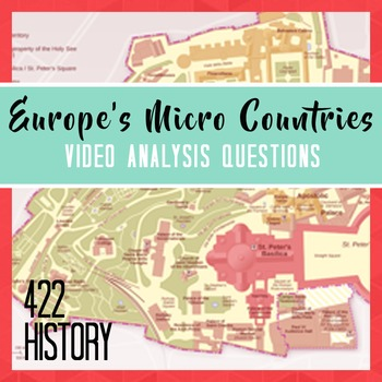 Europe's Micro Countries Video Analysis Questions