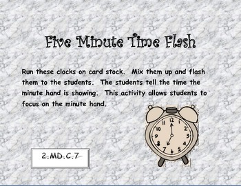 Five Minute Time Flash