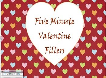 Five Minute Valentine Fillers