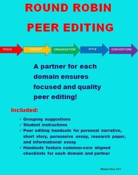 Round Robin Peer Editing