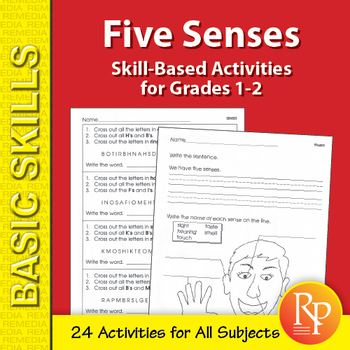 Five Sense: Thematic Unit for All Subjects