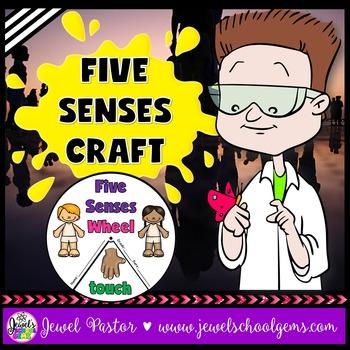 Five Senses Activities (5 Senses Crafts)