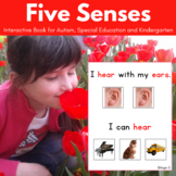 Five Senses - Adapted Book for Autism