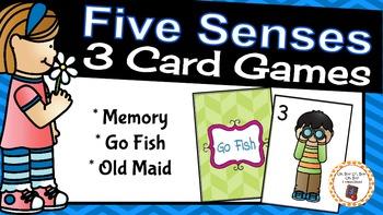 Card Games: Five Senses Card Games