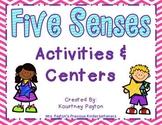 Five Senses Center Activities - Common Core Aligned
