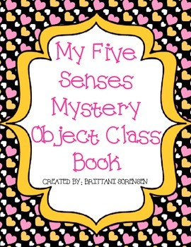 Five Senses Creative Writing: Mystery Object Class Book