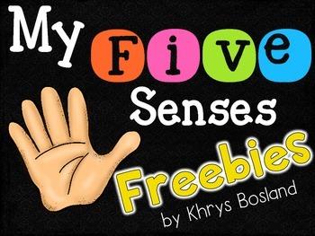 Five Senses FREEBIE {Science Activities} {Interactive and