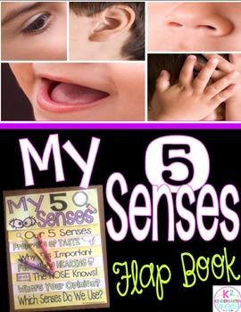 Five Senses Flip-Flap Book