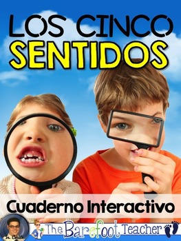 Five Senses Interactive Notebook {SPANISH}