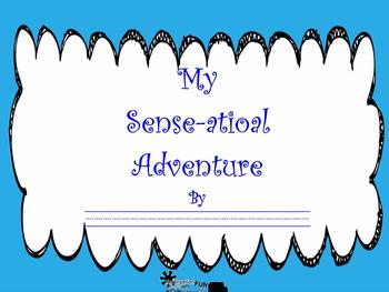 "Five Senses ""My Sense-sational Adventure"" Student made boo"