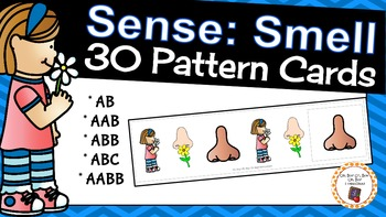 Patterns: Five Senses Smell Pattern Cards