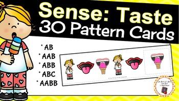 Patterns: Five Senses Taste Pattern Cards