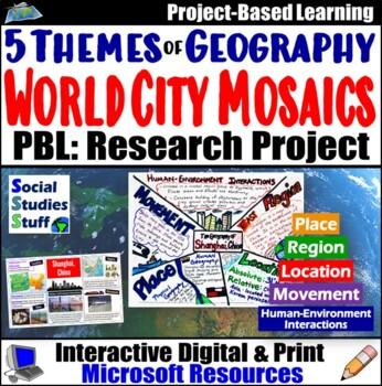 Five Themes of Geography Mosaic Project- World Geography o