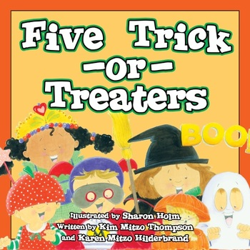 Five Trick-or-Treaters eBook & Read-Along Audio