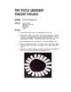 Spanish Five Verb Tense Review Circle Puzzle