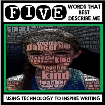 All About Me - Back to School - Technology Inspired Art an